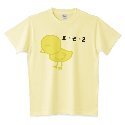 ZZZひよこTシャツ