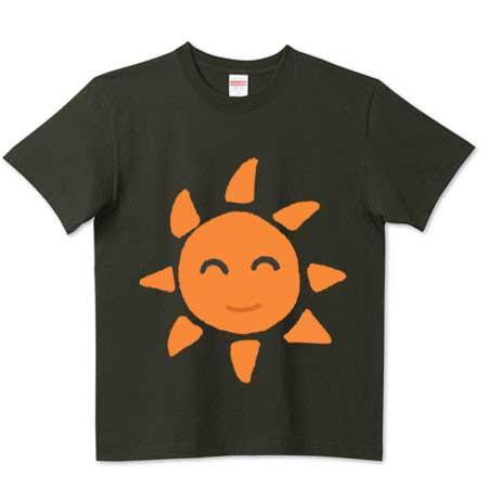 可愛い太陽のTシャツ