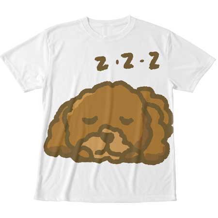 トイプードルの可愛いTシャツ