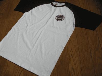 アイロン転写で作ったTシャツサンプル