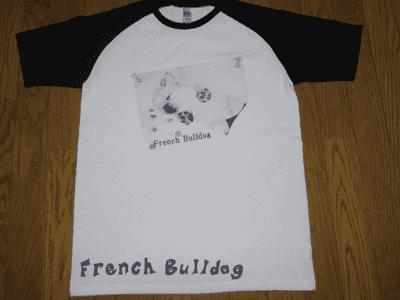 アイロンプリントで作ったTシャツ例