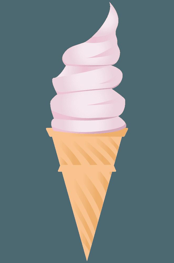 ストロベリーソフトクリーム