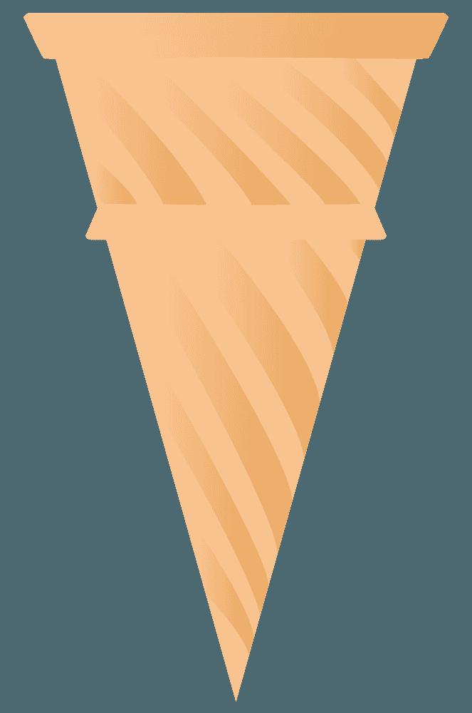 アイスのコーン