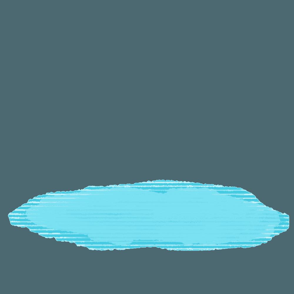 水たまりイラスト