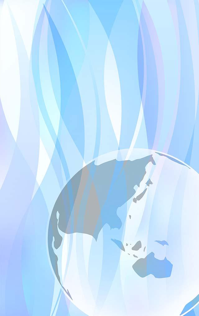 水背景(青)素材15