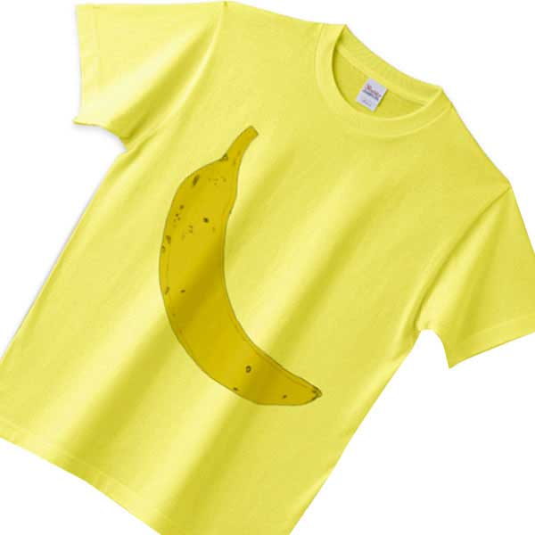 バナナTシャツ - かわいいフルーツのデザイン