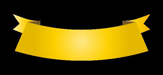 ゴールドのバナーのイラスト9