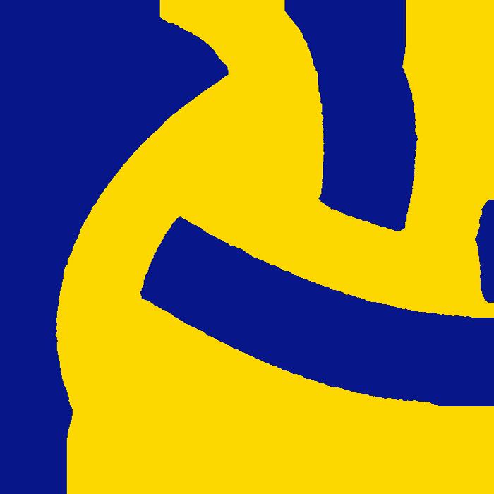 可愛いバレーボールのイラスト