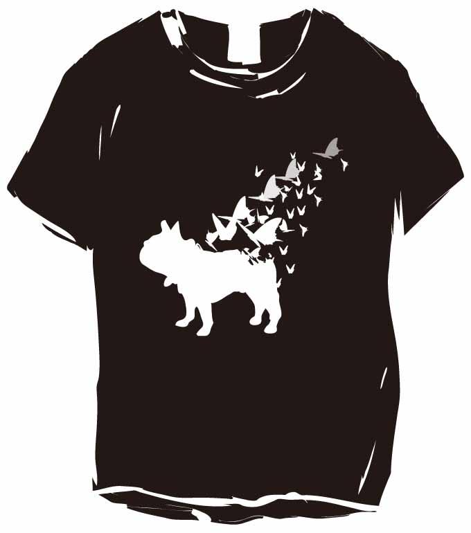 濃色ボディーのナイトオブフレブルTシャツ