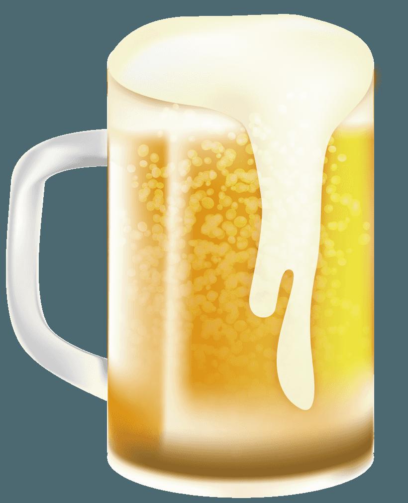 美味しそうなビールイラスト