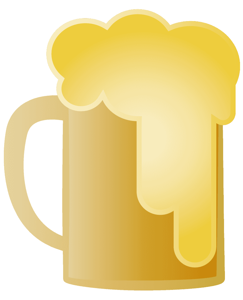 ビールジョッキのイラスト