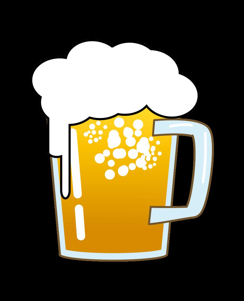 かわいいビールイラスト1