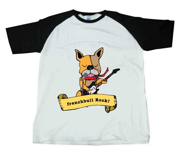 ブルロックラグランTシャツ