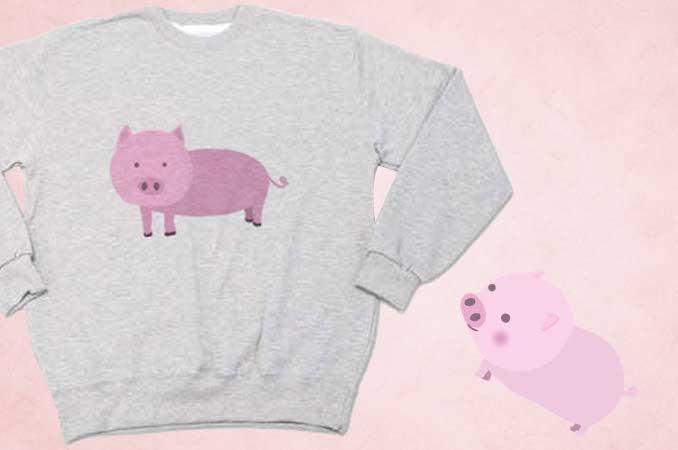 豚のスゥエット