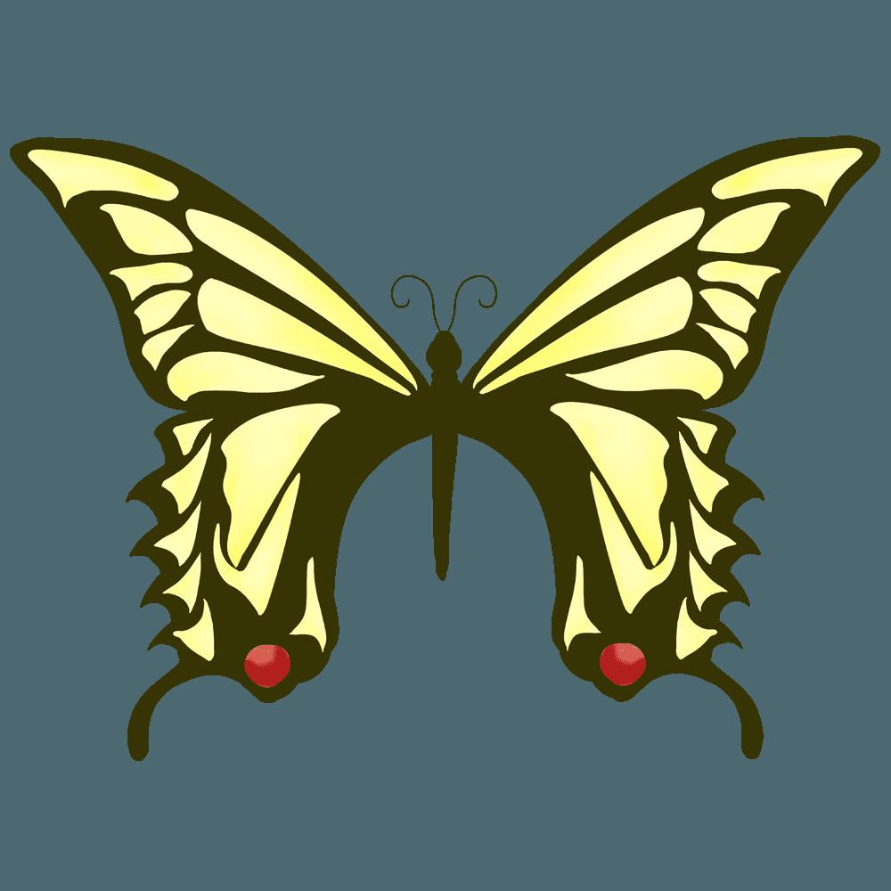 アゲハ蝶イラスト