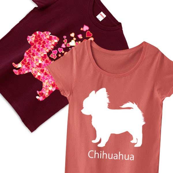 チワワTシャツ - 可愛い犬のオリジナルTシャツ
