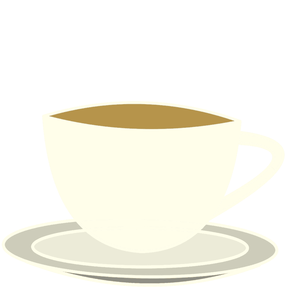 シンプルコーヒーカップイラスト