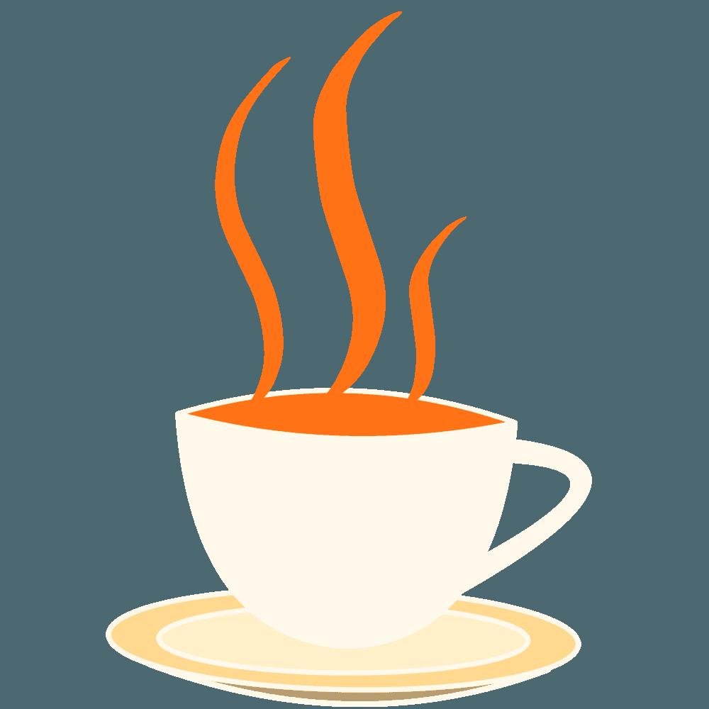 かわいいコーヒーカップイラスト