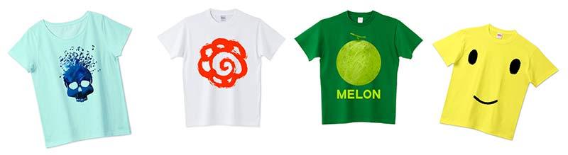 作成したTシャツ