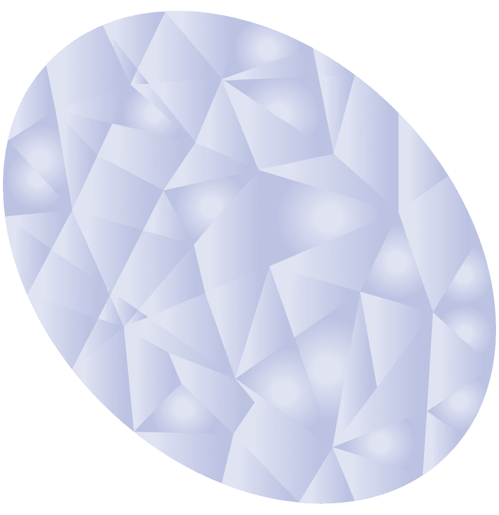 鈍い輝きの丸いダイヤモンドイラスト