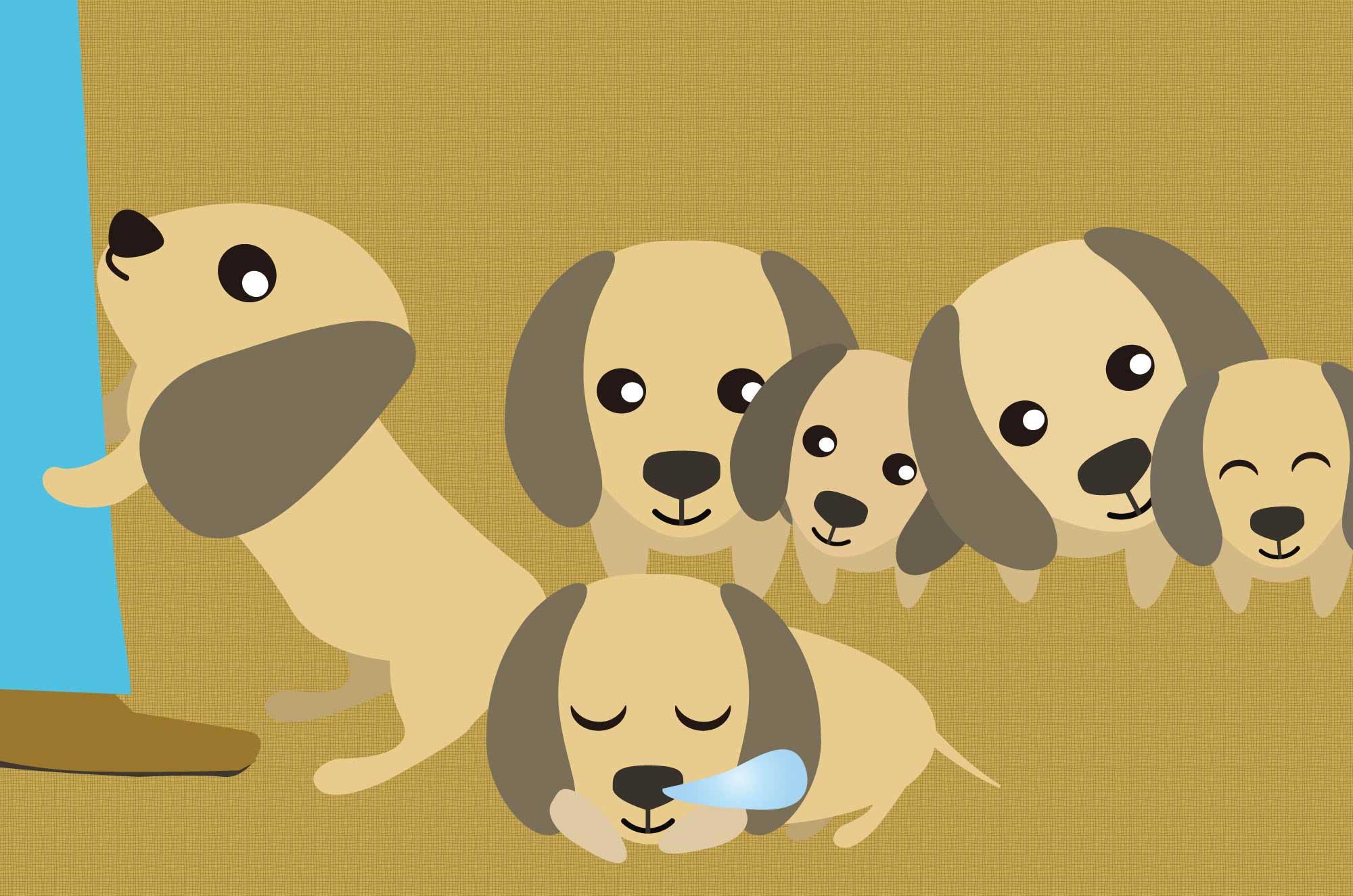 ダックスフンドのイラスト - 可愛い犬のフリー素材集