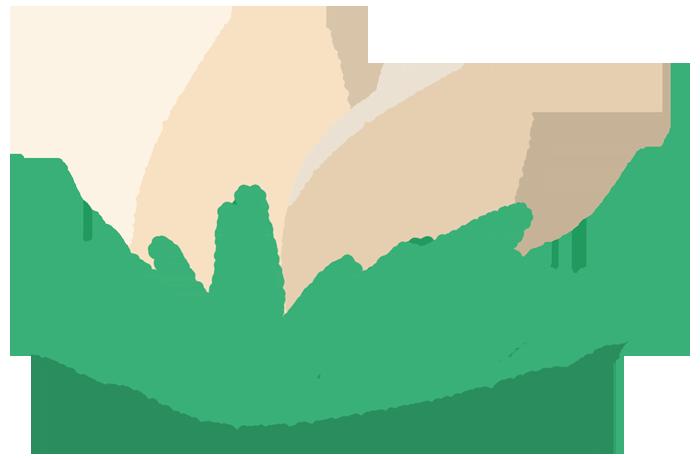 ダチョウの卵のイラスト