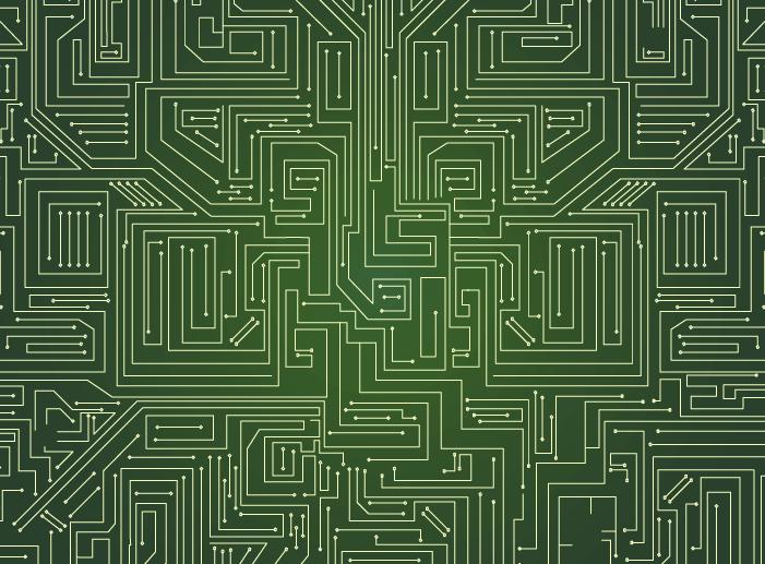 緑の基盤のイラスト2