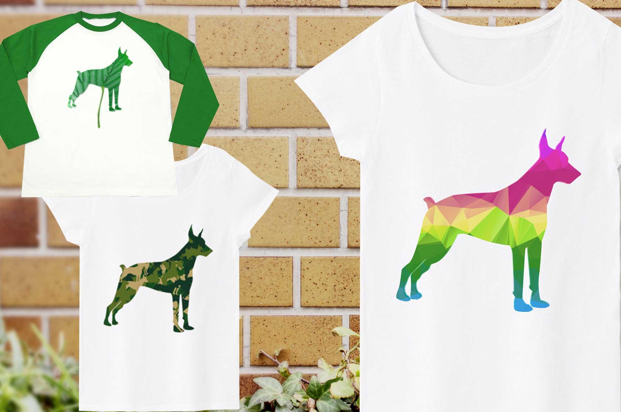 ドーベルマンTシャツ - スマートでかっこいい犬グッズ