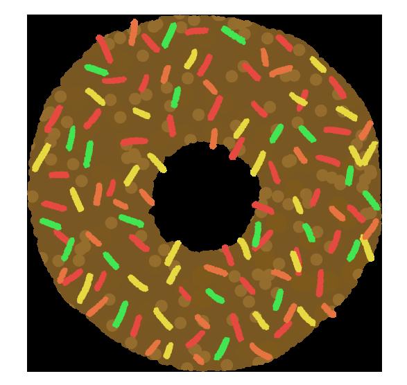 チョコチップドーナッツ