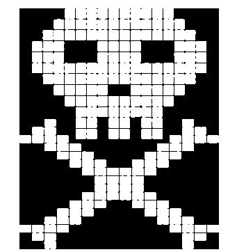 デジドクロマーク(白)