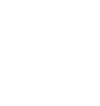 線ドクロマーク(白)