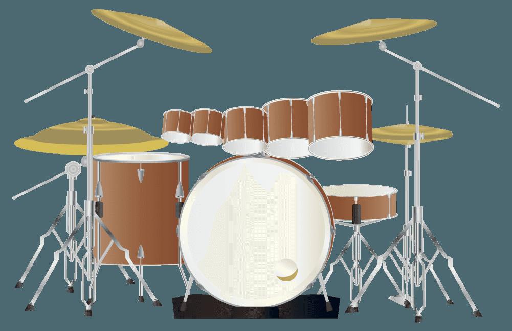 メロディータムドラムセットのイラスト