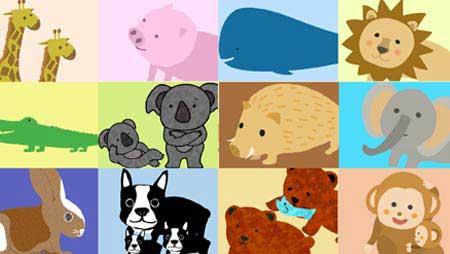 動物イラスト - 全部無料!可愛い・面白フリー素材まとめ