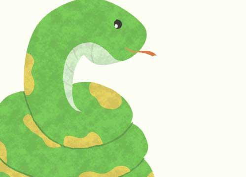 蛇イラスト