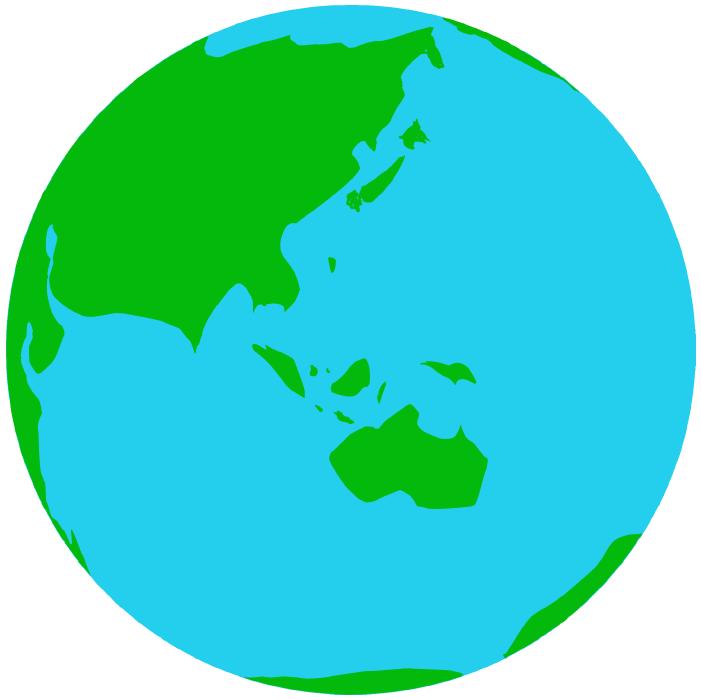 地球のイラスト