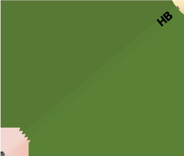 鉛筆のイラスト(HB)