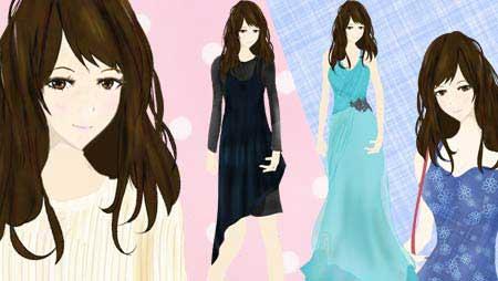ファッションイラスト - 可愛い服のデザイン無料素材