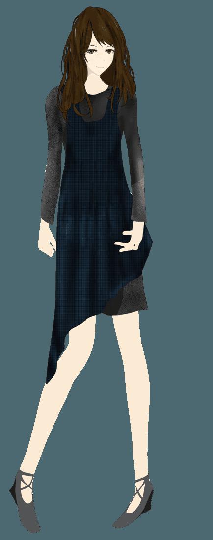 モダン/シックファッションイラスト