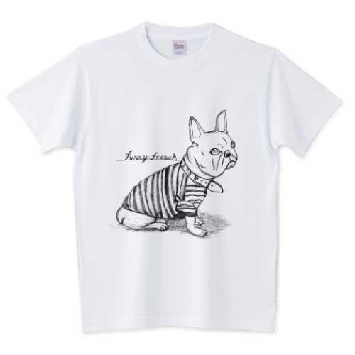 フレブルラフ画アートTシャツ