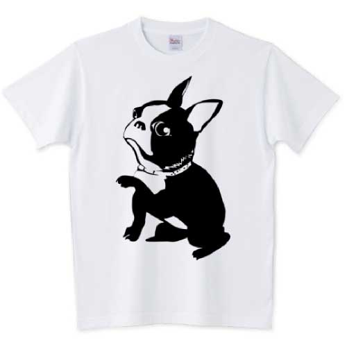 可愛いフレブルイラストTシャツ