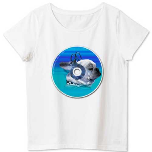 フレンチブルドッグTシャツ funnyfrench