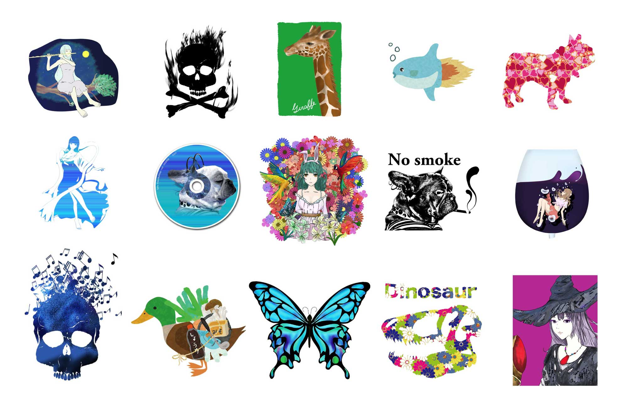 foolのグッズ系デザインポートフォリオ - 函館から愛を込めて