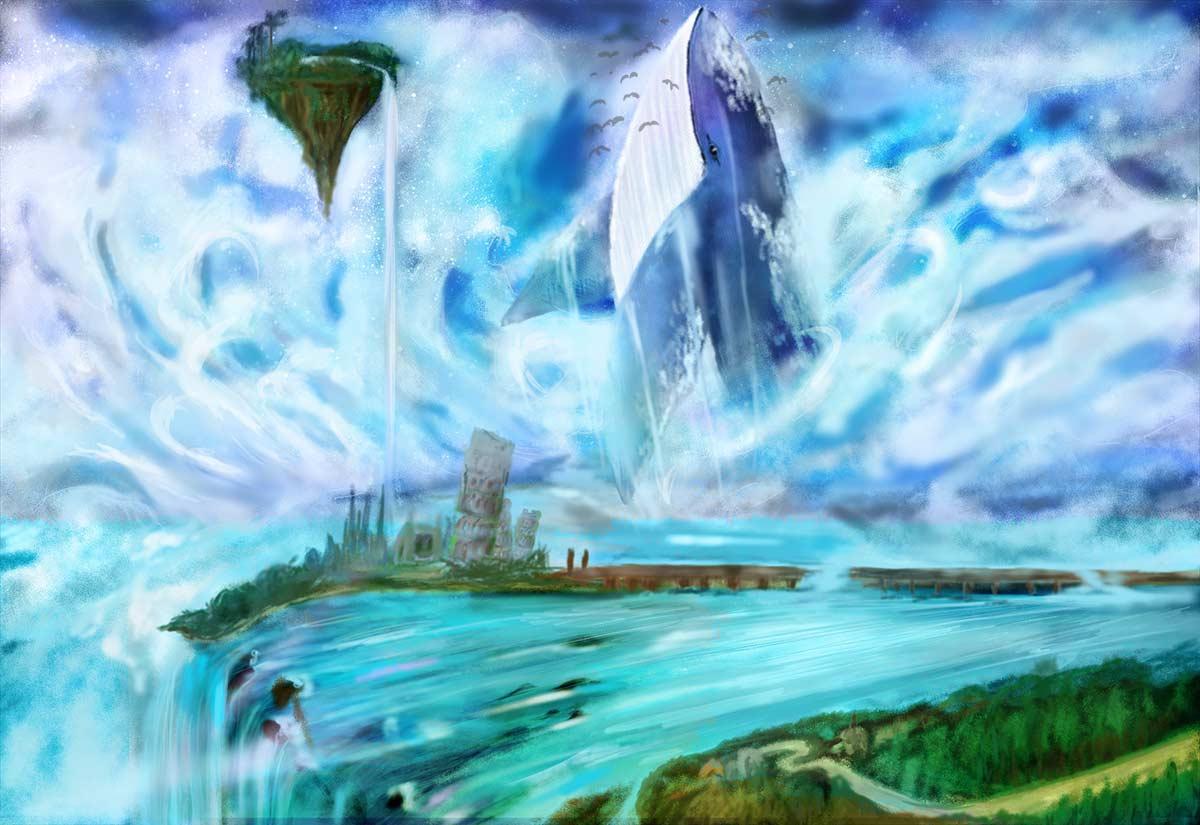 幻想浮遊大陸 - 時の止まった大地 foolのイラスト