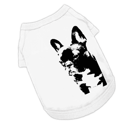 フレンチブルドッグ犬Tシャツ