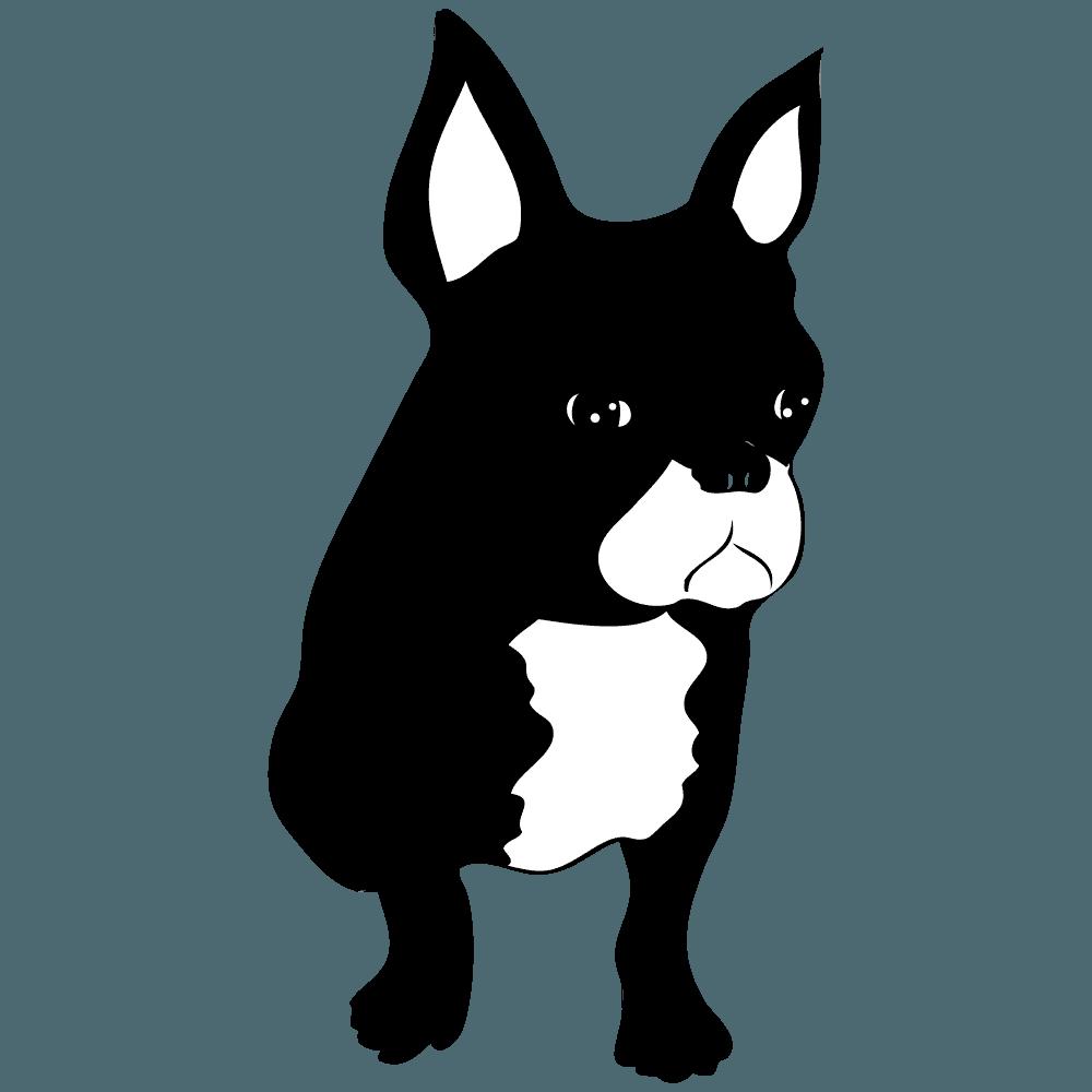 フレブル(ブリンドル)のイラスト