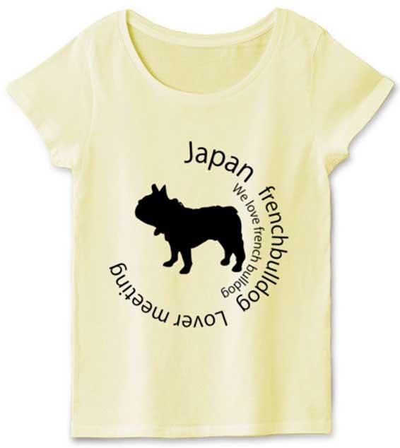フレンチブルドッグのイベントTシャツ