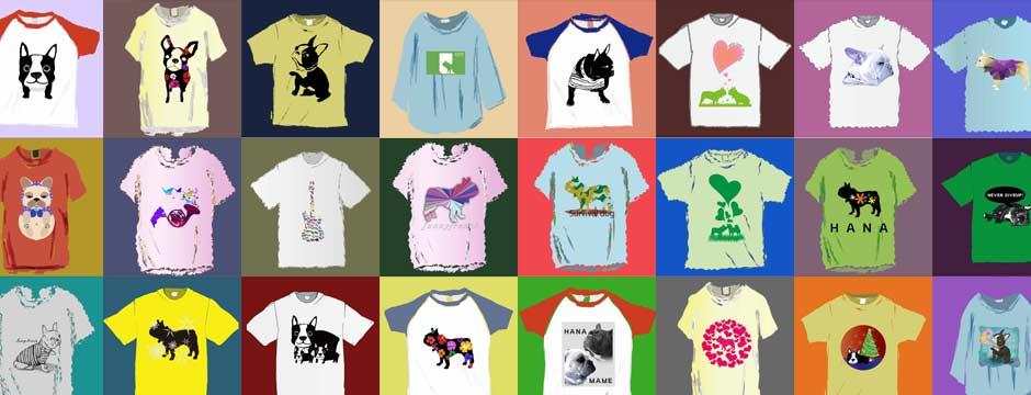 フレンチブルドッグTシャツの一覧