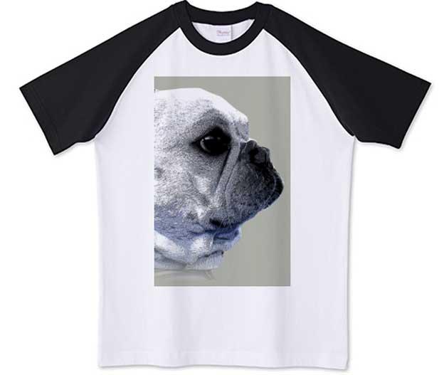 funny-french4フレンチブルドッグラグランTシャツ