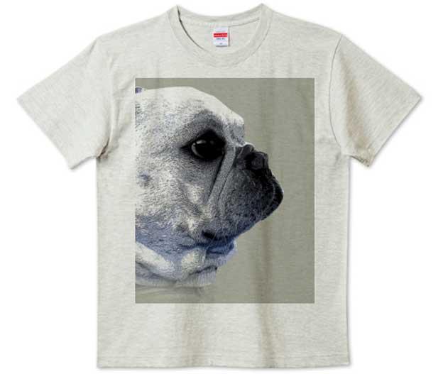 funny-french4フレンチブルドッグハイクォリティTシャツ