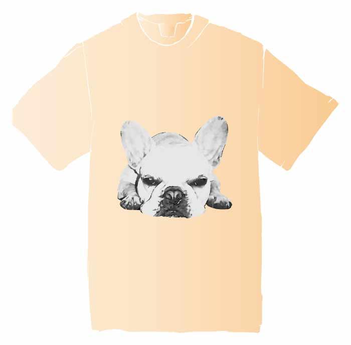 ぶさ可愛いフレブルTシャツ